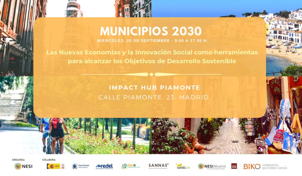 El Ayuntamiento de Alicante participa en la jornada sobre 'Municipios 2030' como miembro de la Red Kaleidos en ESTILO DE VIDA MEDIO AMBIENTE