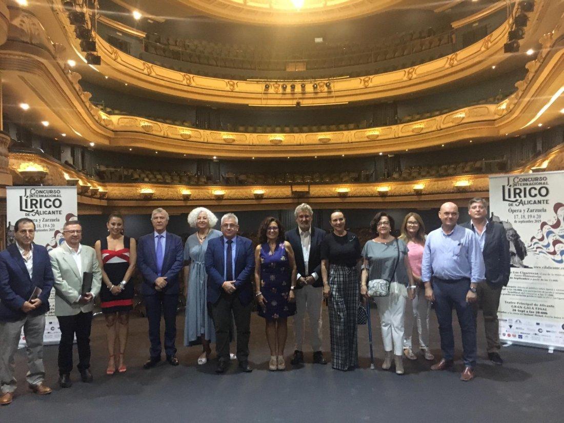 I Concurso Lírico Internacional de Alicante para revalorizar la ópera y la zarzuela en ESCENA