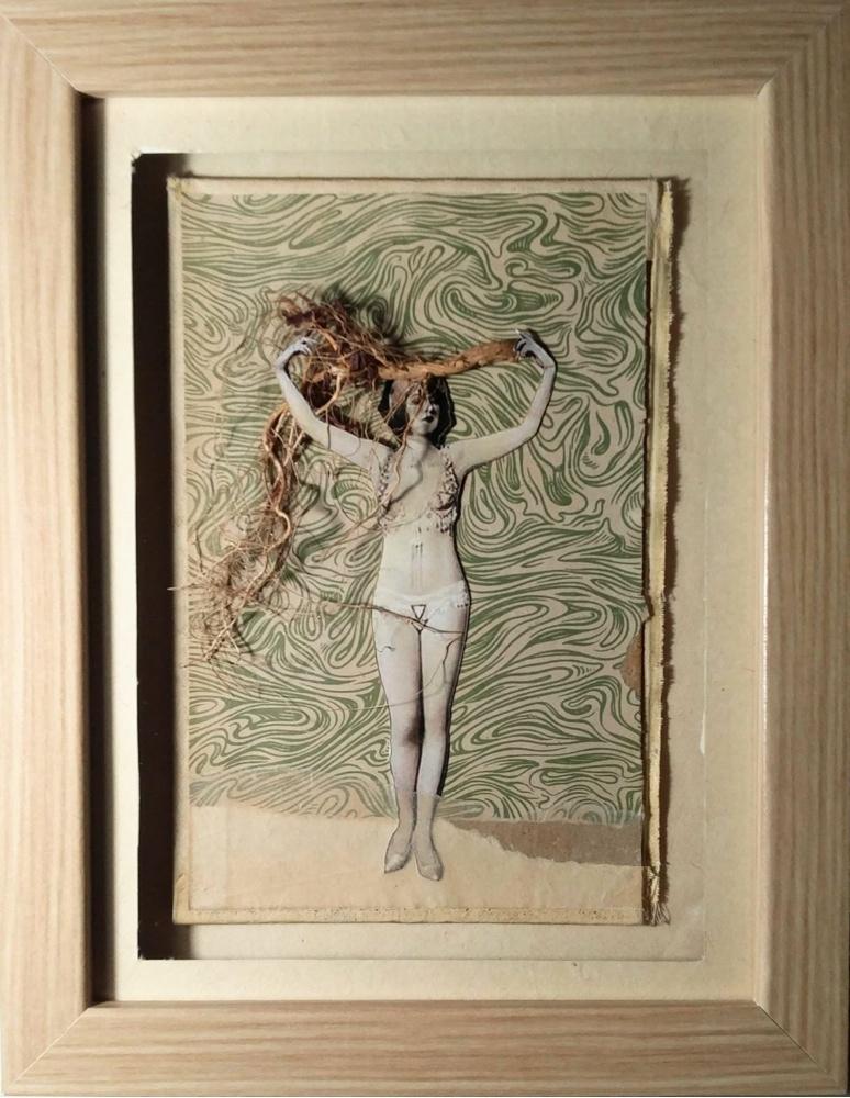 "Nina Llorens expone reubica a sus personajes a través del ""Collage"" en Denia en ARTE"