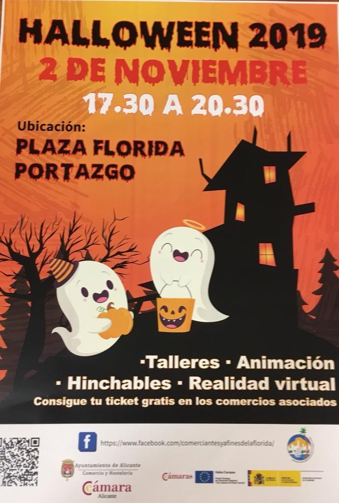 Fiestas de Halloween en las plazas y calles de Alicante para apoyar al comercio local en AIRE LIBRE