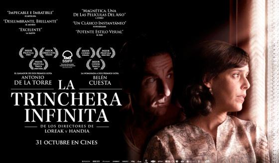 'La trinchera infinita' (2019), complicadísimo reto resuelto con éxito en CINE