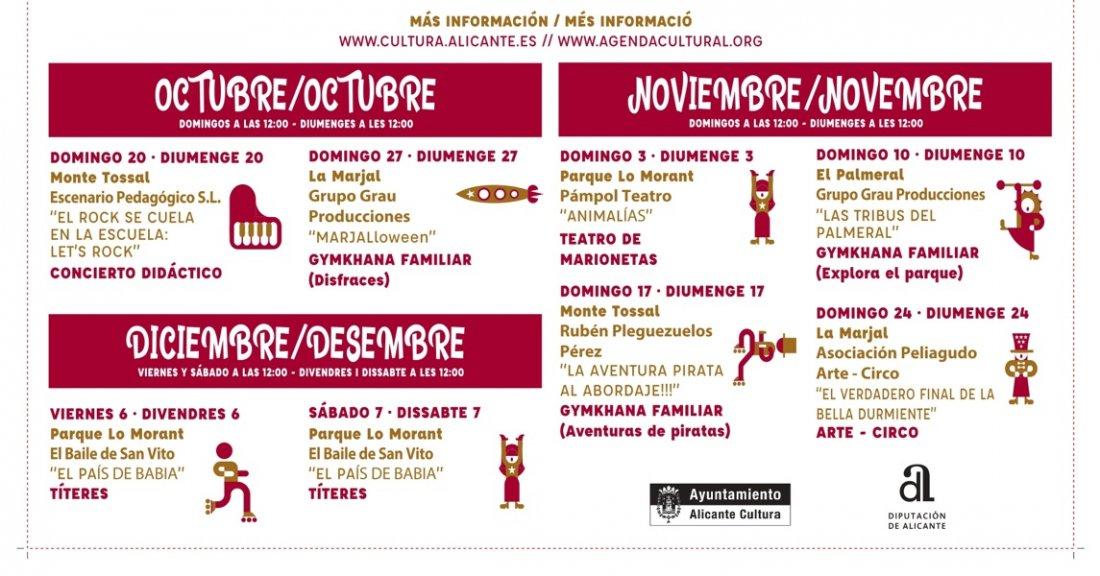 Nueva edición de 'Otoño en parques' con circo, títeres, música y gymkhanas en AIRE LIBRE ESCENA