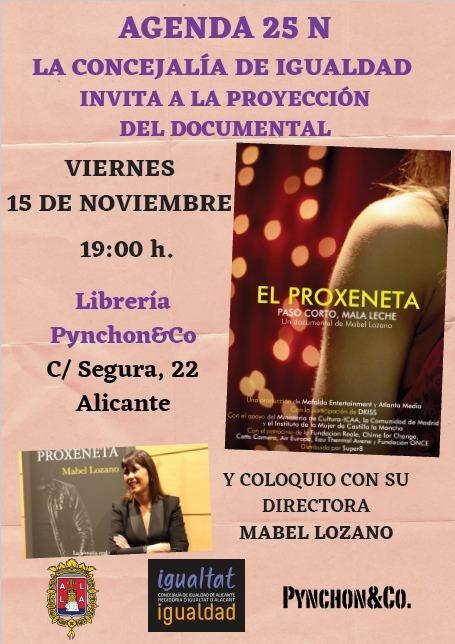 La librería Pynchon acoge la proyección del documental 'El Proxeneta', de Mabel Lozano en CINE