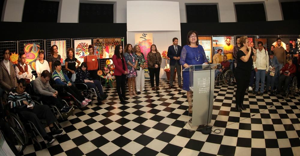 La Diputación acoge 'Expocreativa 2019', una muestra del talento de personas con diversidad funcional en ARTE