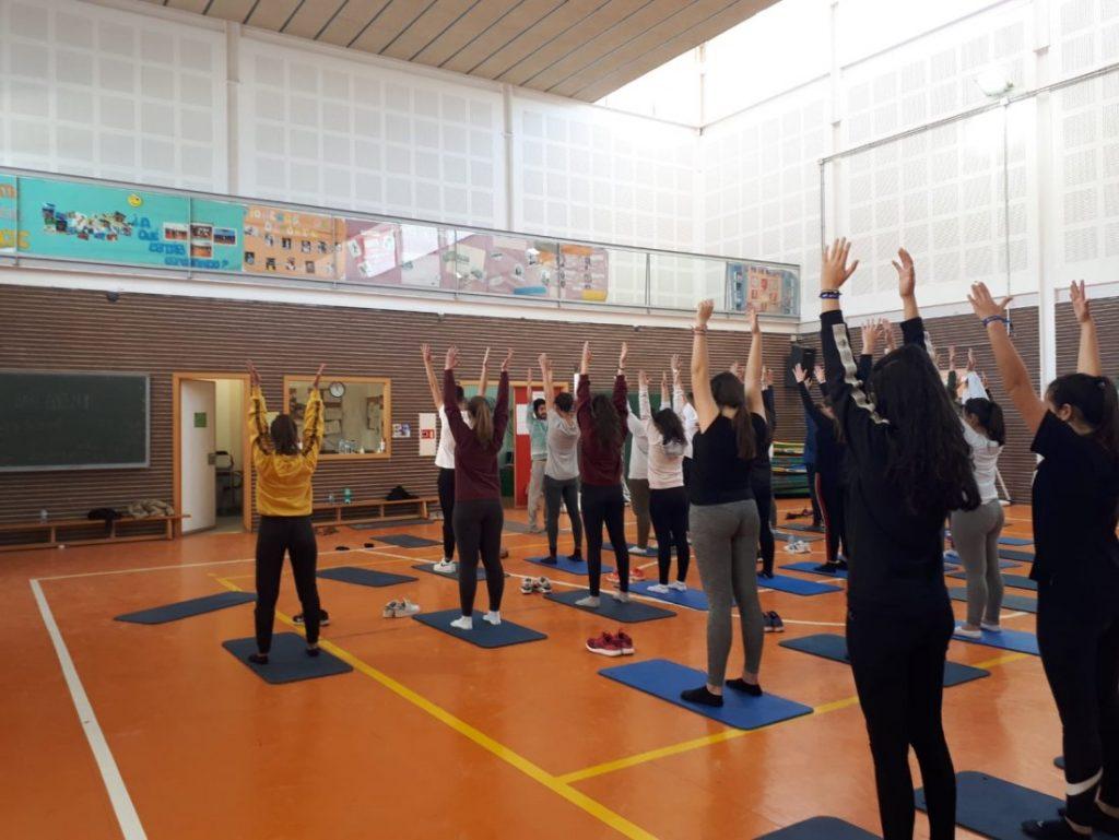 Anahata Project: yoga, arte y naturaleza, un proyecto de bienestar para institutos y universidades en ESTILO DE VIDA