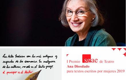 La autora alicantina Josi Alvarado gana el I Premio SGAE de Teatro 'Ana Diosdado' en ESCENA