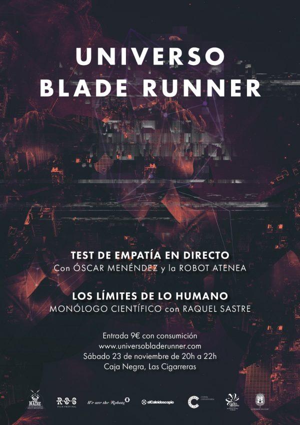 'Universo Blade Runner' irrumpe en Las Cigarreras del 9 al 27 de noviembre en CINE