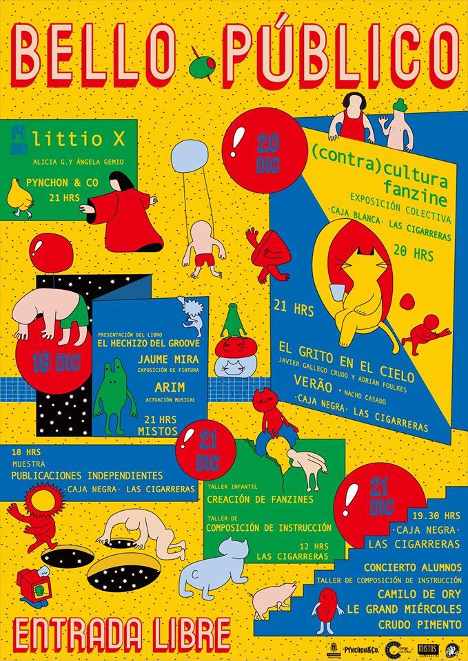 Arranca 'Bello Público', una serie de encuentros entre la palabra y las artes en LETRAS