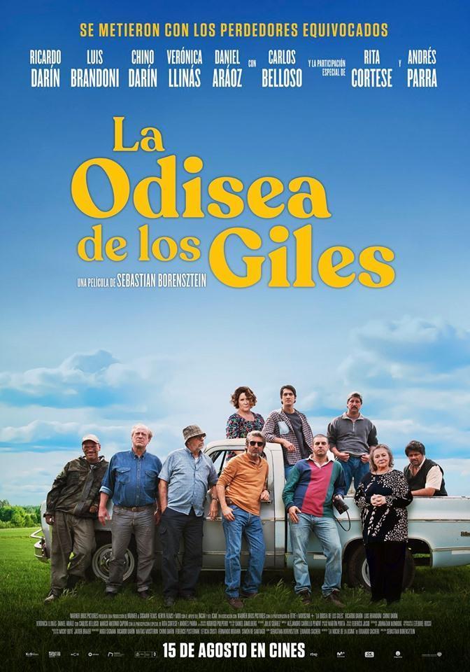 'La odisea de los Giles' (2019), resultona antigualla que se agota a la mitad en CINE