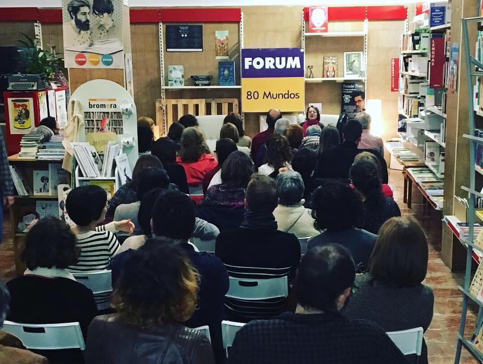 80 Mundos recibirá el Premio Librería Cultural 2019 en Alicante en LETRAS