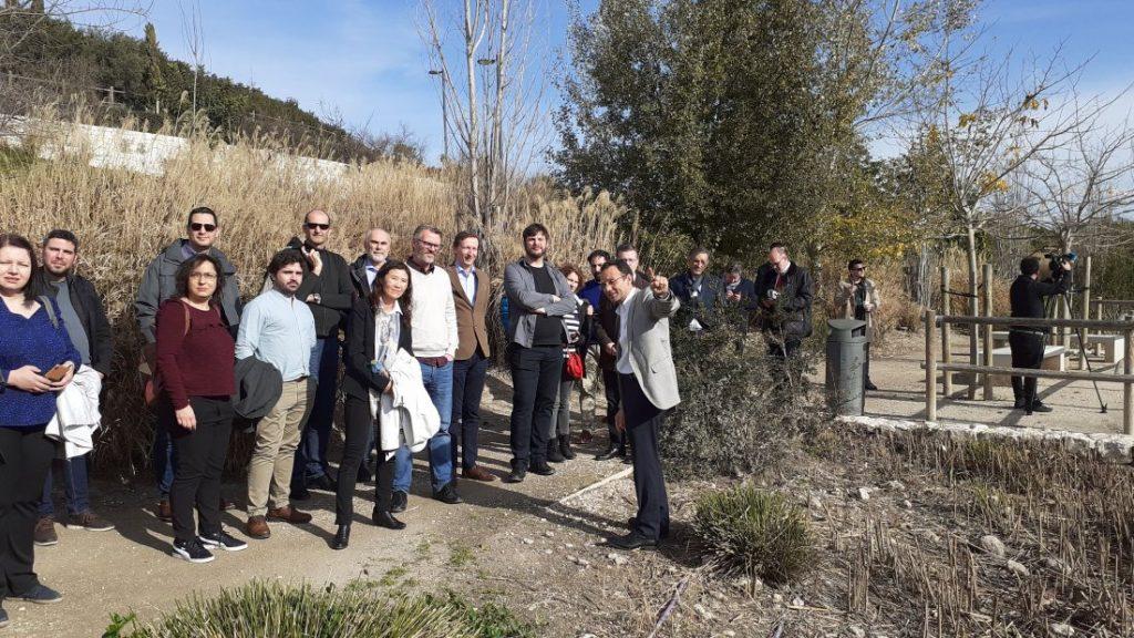 Representantes del proyecto europeo NAIADES destacan  el éxito de colaboración público-privada del parque La Marjal en MEDIO AMBIENTE