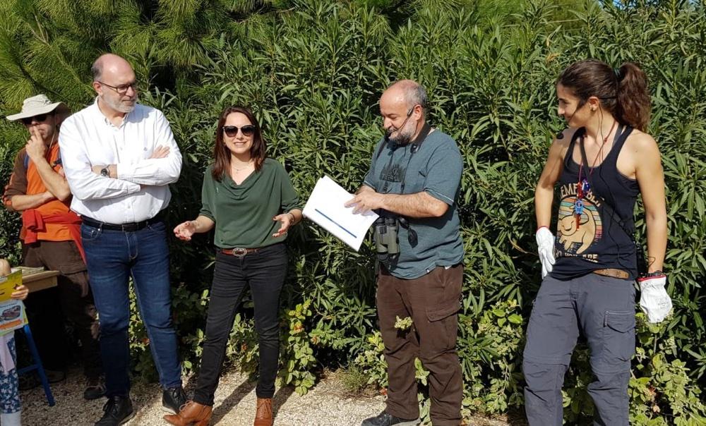 El parque La Marjal, hábitat para un centenar de especies de aves en MEDIO AMBIENTE