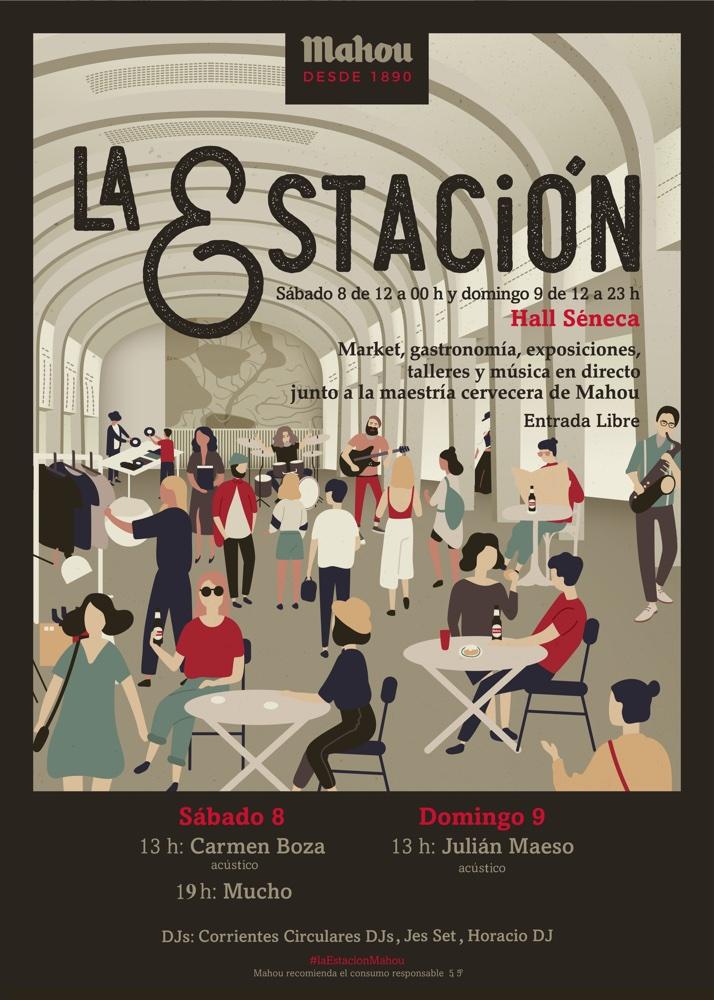 """Madi Ortega: """"La Estación es un formato atractivo que acerca al público arte, música y gastronomía"""" en ARTE GASTRONOMÍA MÚSICA"""