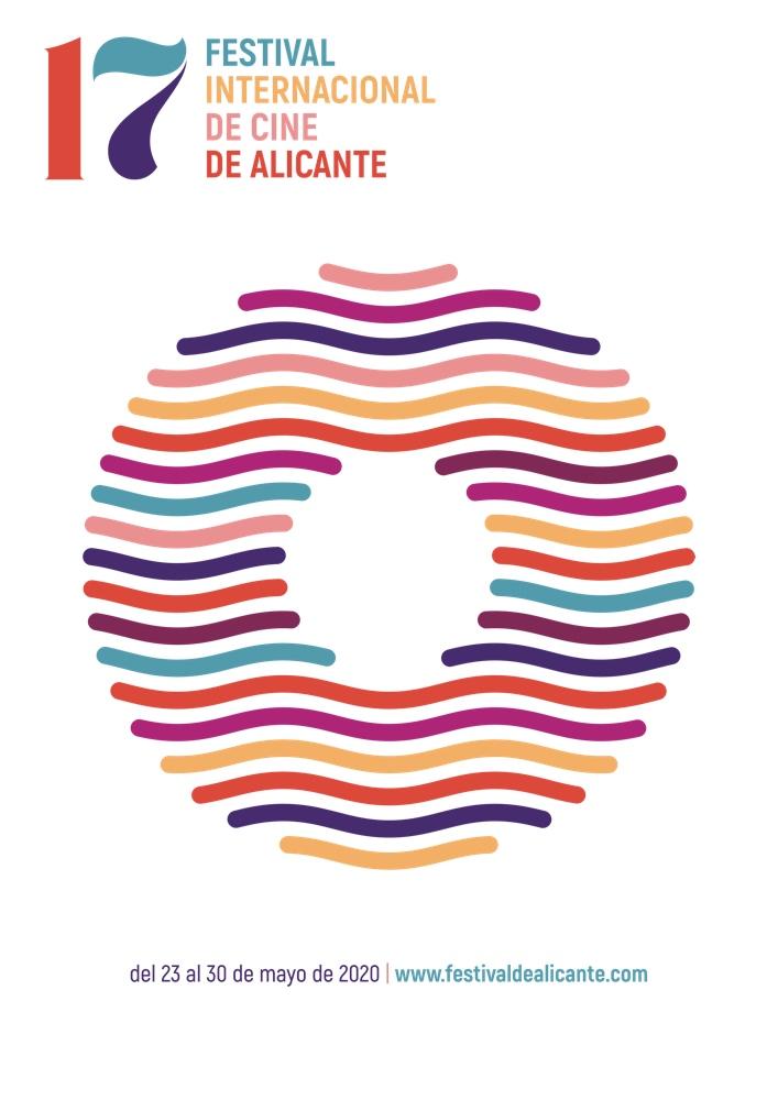 Un gran ojo, el mar y el paseo de la Explanada inspiran el cartel del 17º Festival de Cine de Alicante en CINE