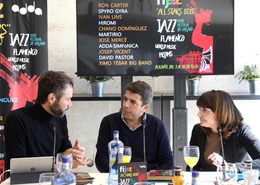 Figuras como Ron Carter, Chano Domínguez & Martirio o José Mercé se darán cita en Fijazz 'All Stars' en ARTE