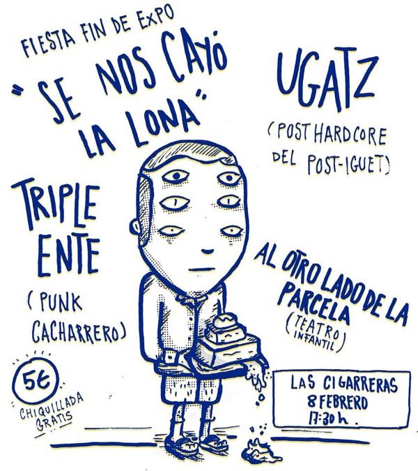 Fiesta fin de expo '(contra)Cultura Fanzine' con actividades para toda la familia en Las Cigarreras en ARTE