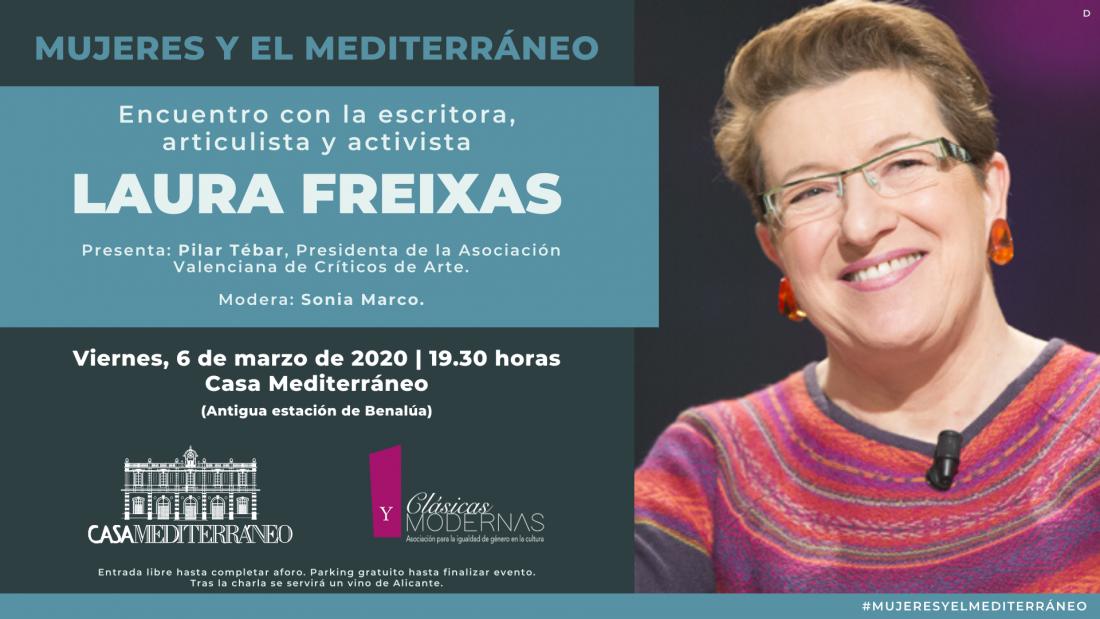 Casa Mediterráneo reúne en marzo a mujeres del ámbito cultural e intelectual del Mare Nostrum en CONFERENCIAS