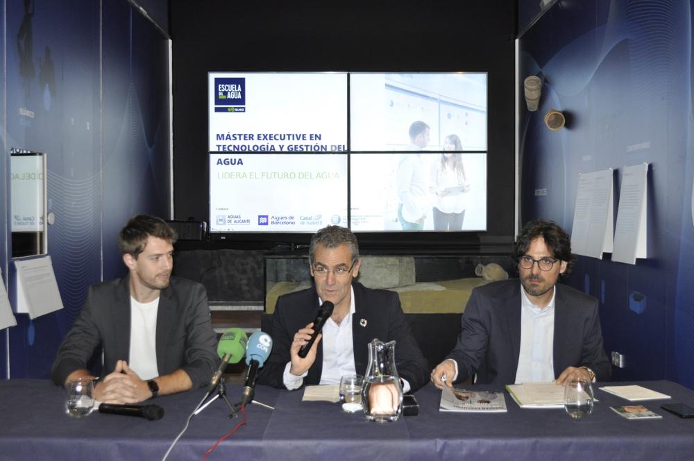 Aguas de Alicante se incorpora al Master Executive en Tecnología y Gestión del Agua en MEDIO AMBIENTE