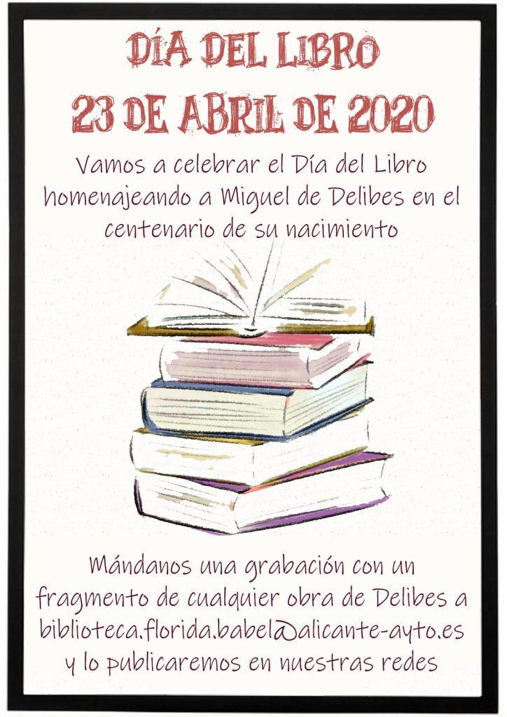 Propuestas culturales online para celebrar el Día del Libro y de la Santa Faz en ARTE LETRAS