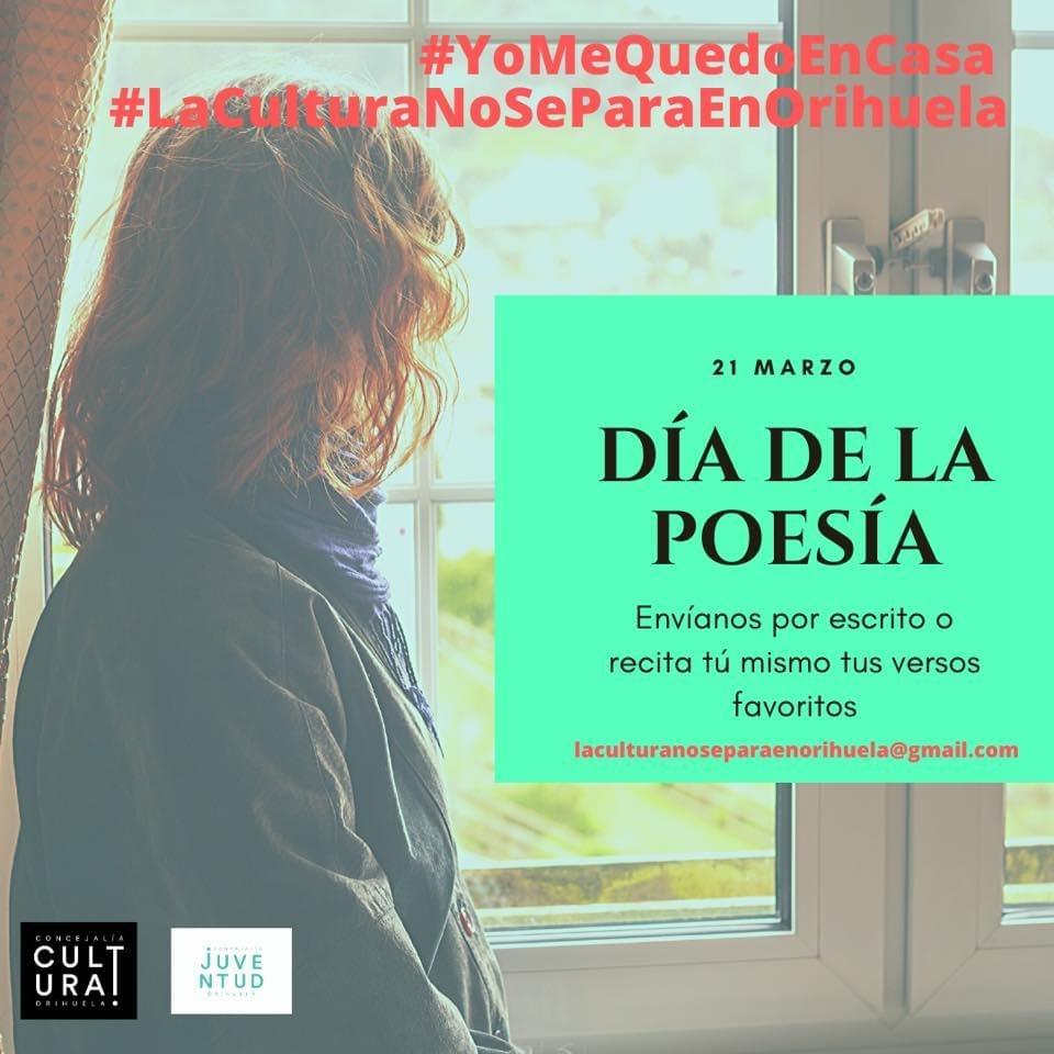 Pese al confinamiento, la cultura no se para en Orihuela en ARTE