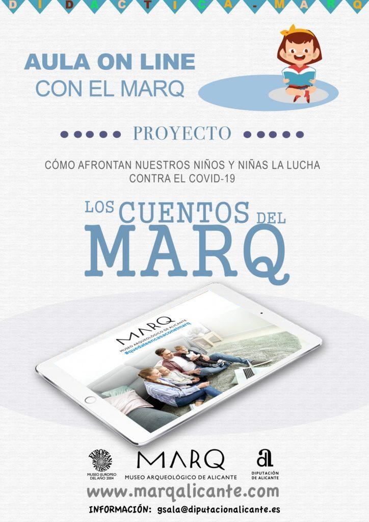 El MARQ pone en marcha una 'escuela virtual' con un publicaciones didácticas enfocadas a todos los ciclos en ARQUEOLOGÍA