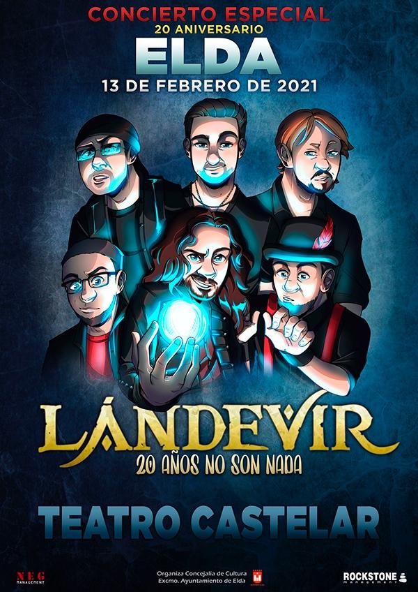 La formación alicantina de hard rock celta Lándevir actuará en Elda por su 20º aniversario en MÚSICA
