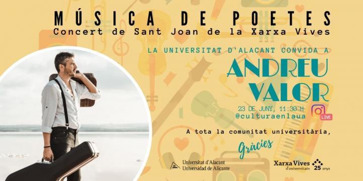 La UA se suma al concierto universitario 'Música de poetes' para celebrar el día de San Juan en MÚSICA