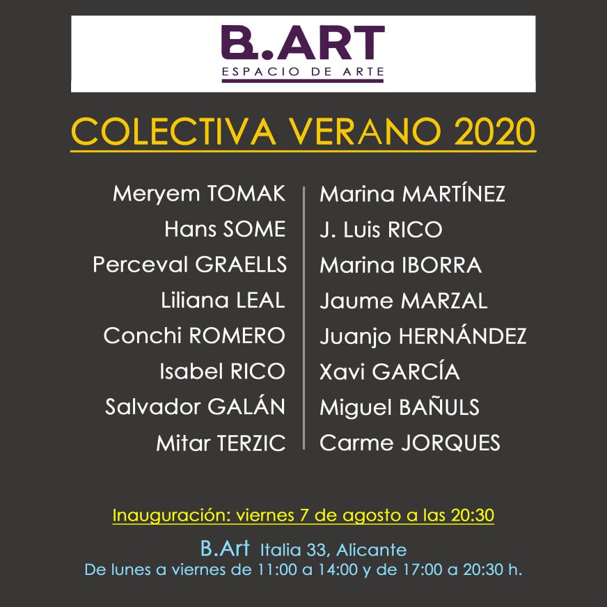 Colectiva de Verano 2020, una mirada al arte alicantino contemporáneo en ARTE