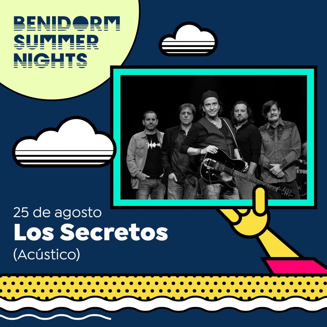 Amaral, Los Secretos y Comandante Lara se suman al cartel de Benidorm Summer Nights en MÚSICA