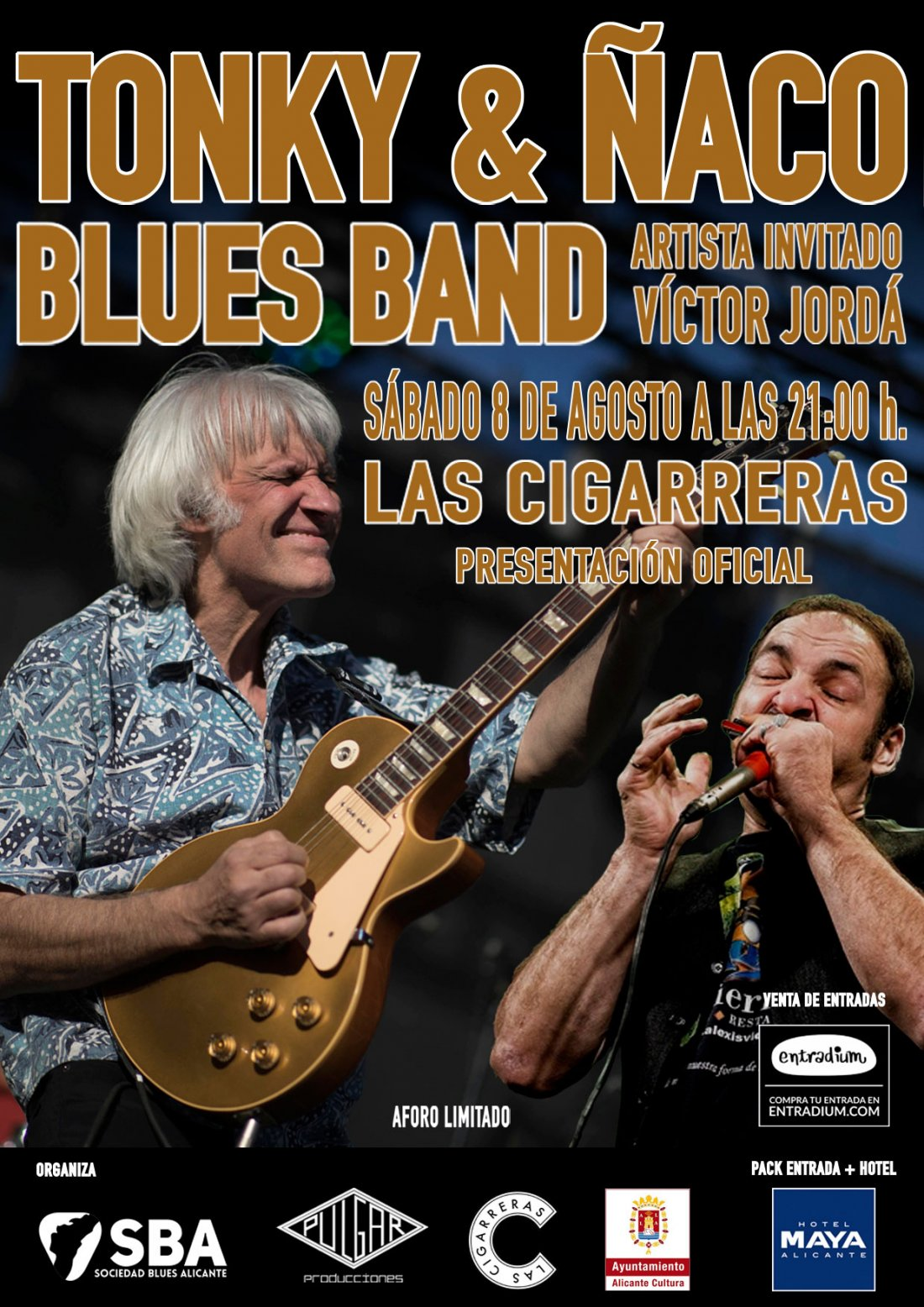 El blues está de enhorabuena: Tonky & Ñaco se reencuentran en Alicante en MÚSICA