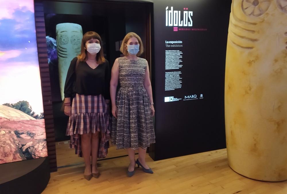 La exposición del MARQ 'Ídolos. Miradas milenarias' llega al Museo Arqueológico Regional de Madrid en ARQUEOLOGÍA