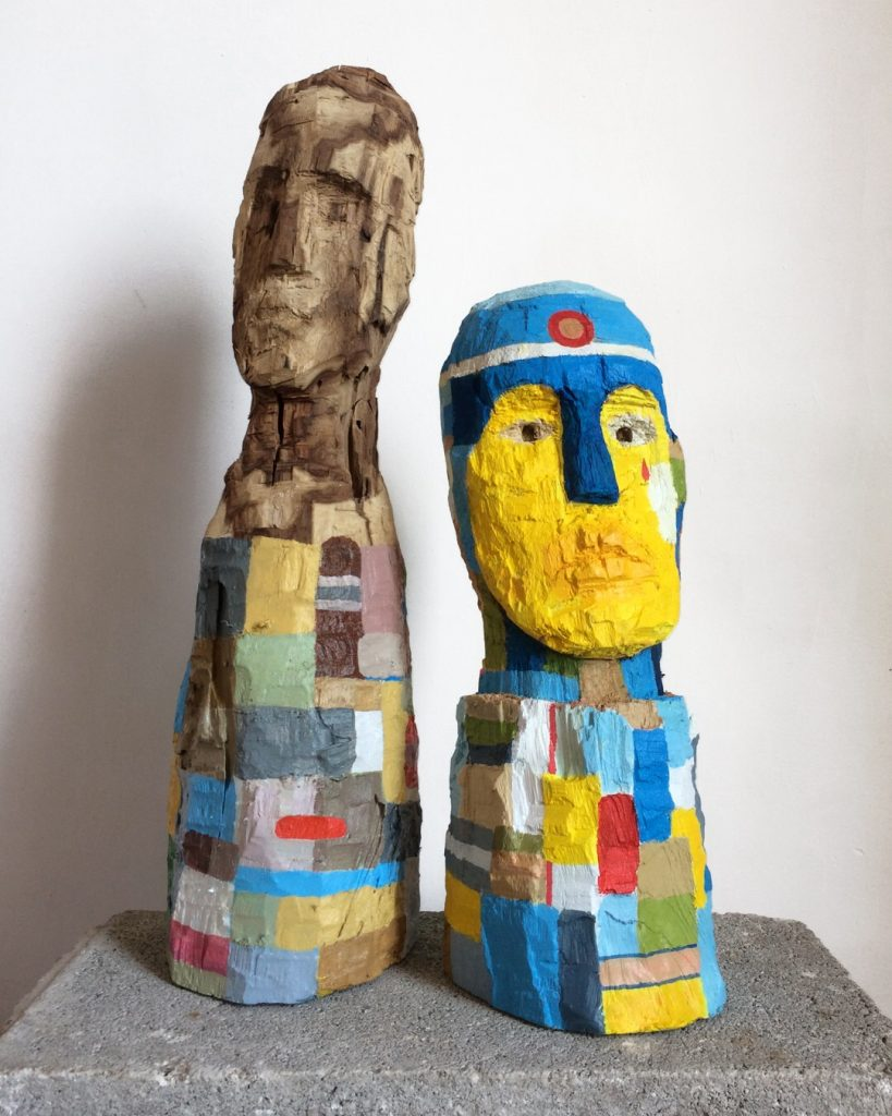 El Gil-Albert retoma su actividad presencial con una exposición del alicantino Miguel Sellers en ARTE