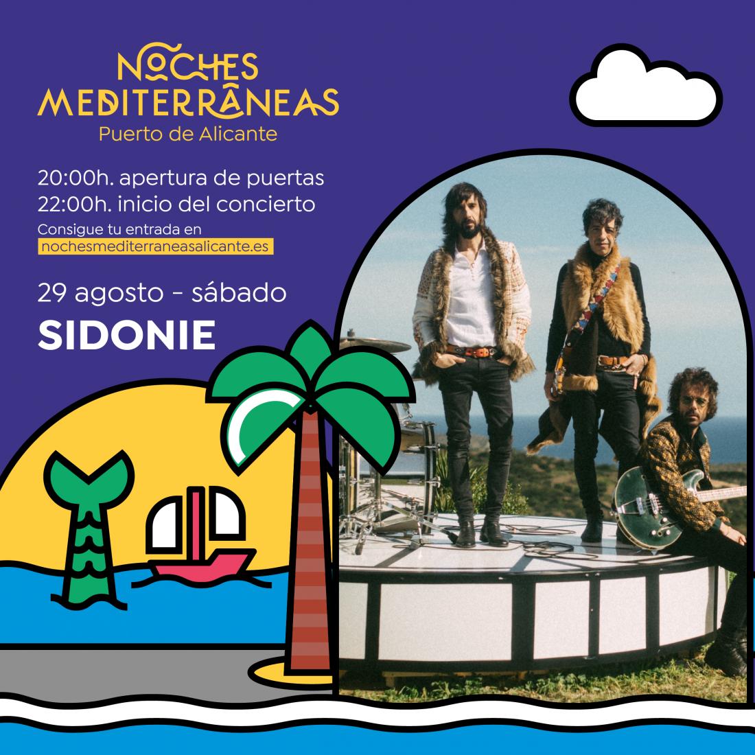 Izal, Dorian y Sidonie encabezan las nuevas confirmaciones de 'Noches Mediterráneas' en MÚSICA