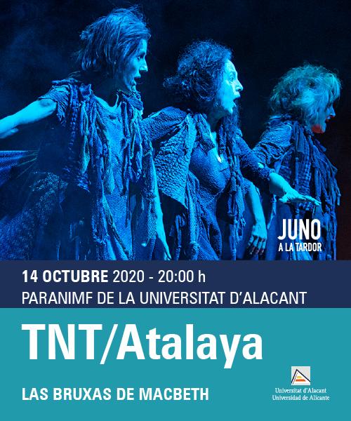 La UA reemprende su actividad cultural ACUA con una programación dual presencial y virtual en ESCENA
