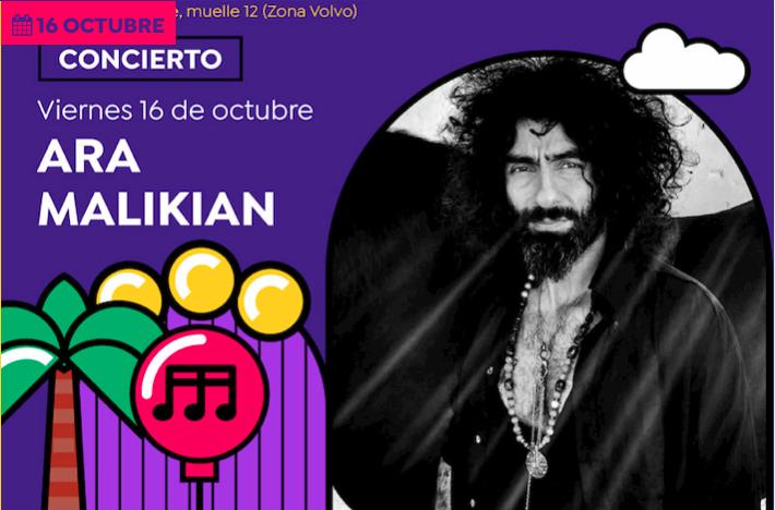 Ara Malikian, Rayden, Xoel López,Marwan y Amatria ponen música a las 'Noches Mediterráneas'de octubre en MÚSICA