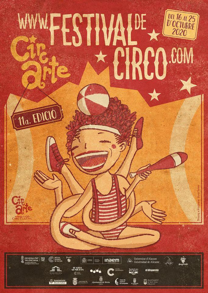 Circarte trae a la provincia 22 propuestas y doce compañías del circo más contemporáneo en ESCENA