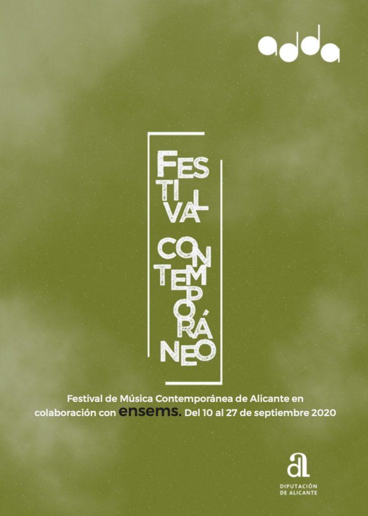 Los festivales de Música Contemporánea de Alicante y Ensems comparten conciertos en MÚSICA