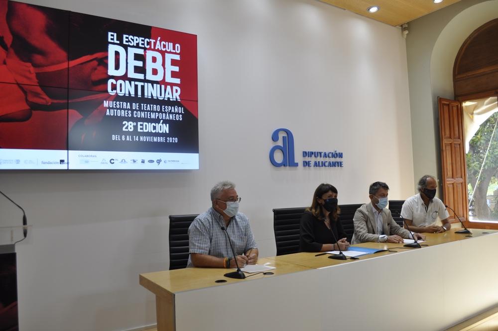 La XVIII Muestra de Teatro Español de Autores Contemporáneos en Alicante ofrece una sólida programación con 22 espectáculos del 6 al 14 de noviembre en ESCENA