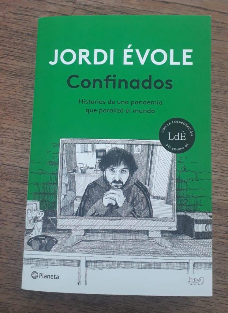 El último libro de Jordi Évole se incorpora a la 'Cápsula del tiempo Covid-19' de Villena en LETRAS