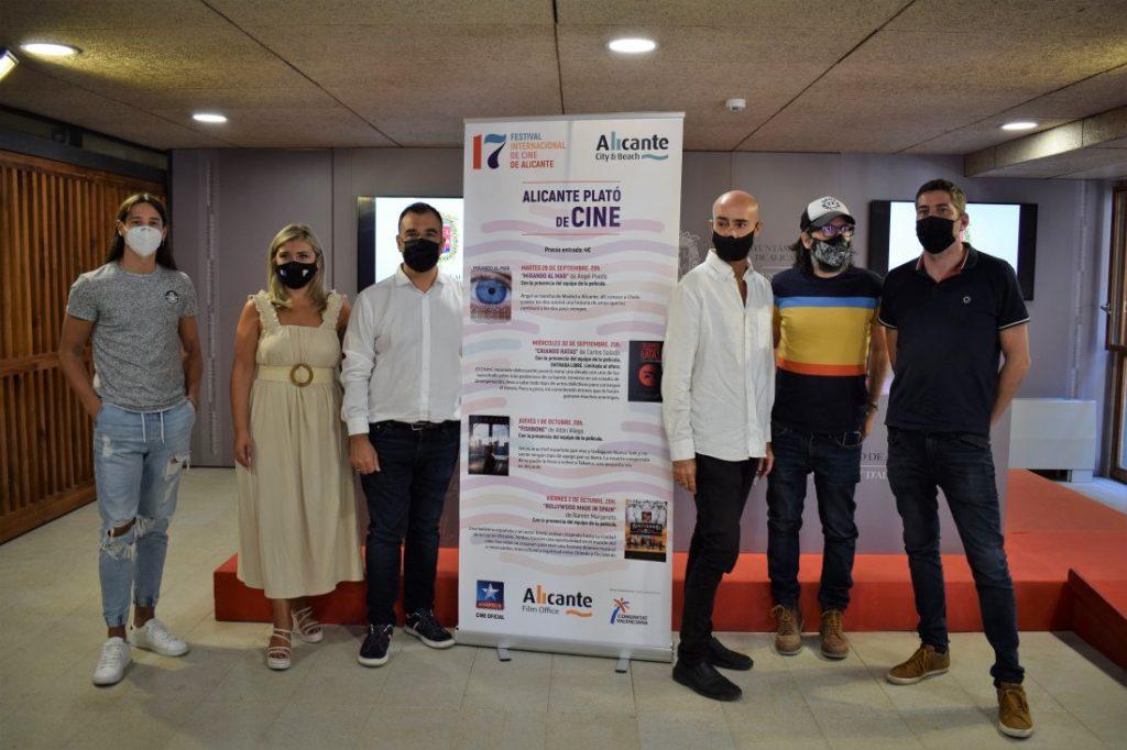 El Festival de Cine de Alicante y Turismo presentan 'Alicante, plató de cine' para promocionar la ciudad como plataforma de rodajes en CINE