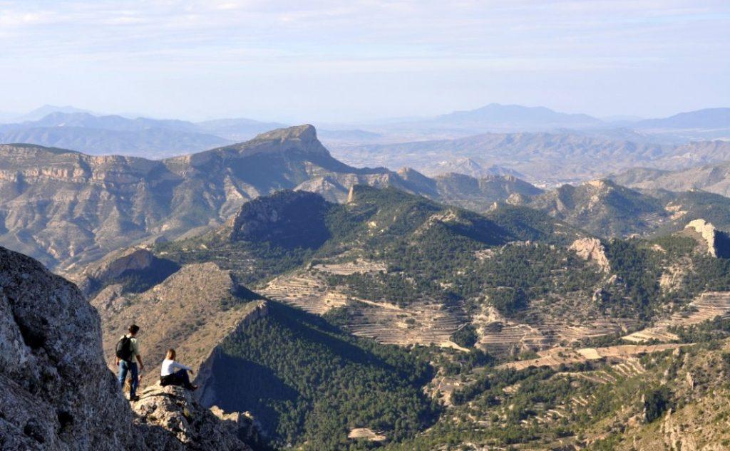 Alicante, primera provincia de España en digitalizar sus rutas de montaña en MEDIO AMBIENTE