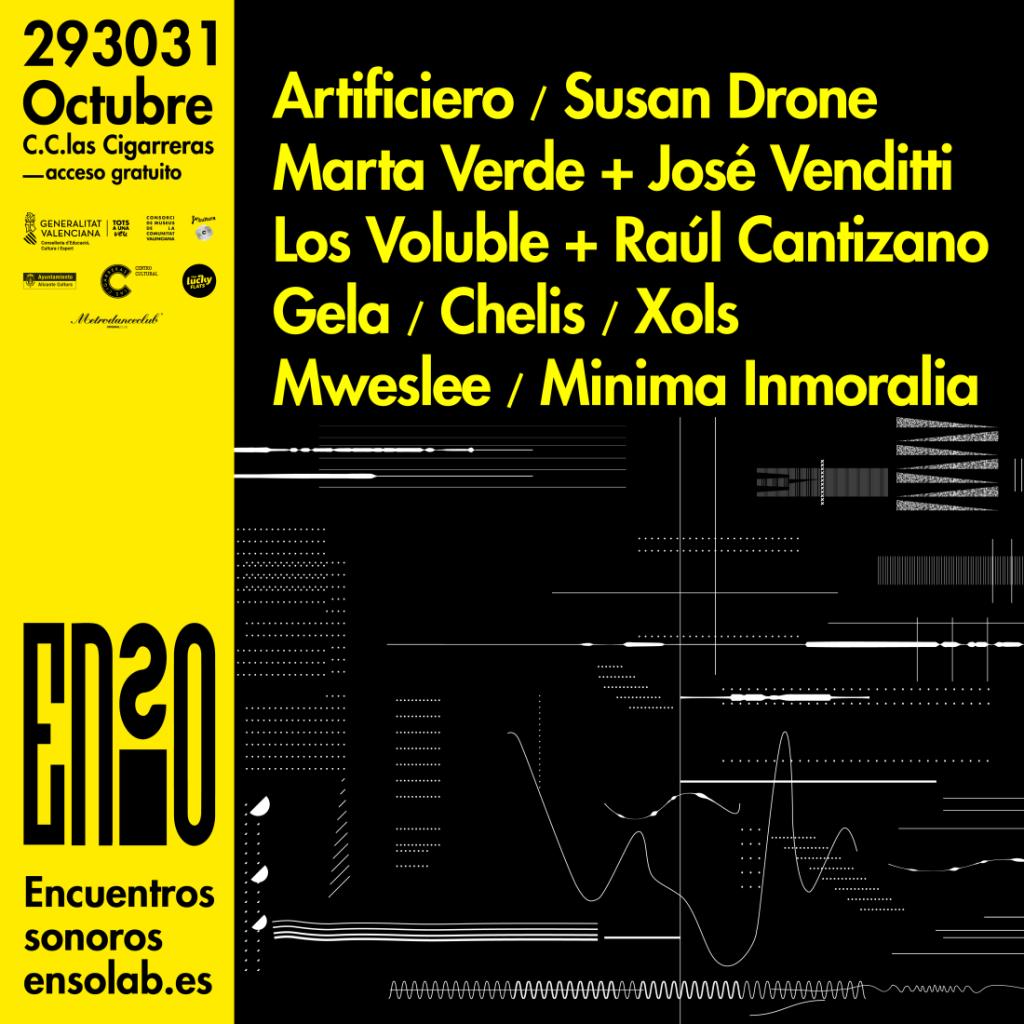 El Festival de Producción y Música Electrónica ENSO llega a su cuarta edición del 29 al 31 de octubre en Las Cigarreras en MÚSICA