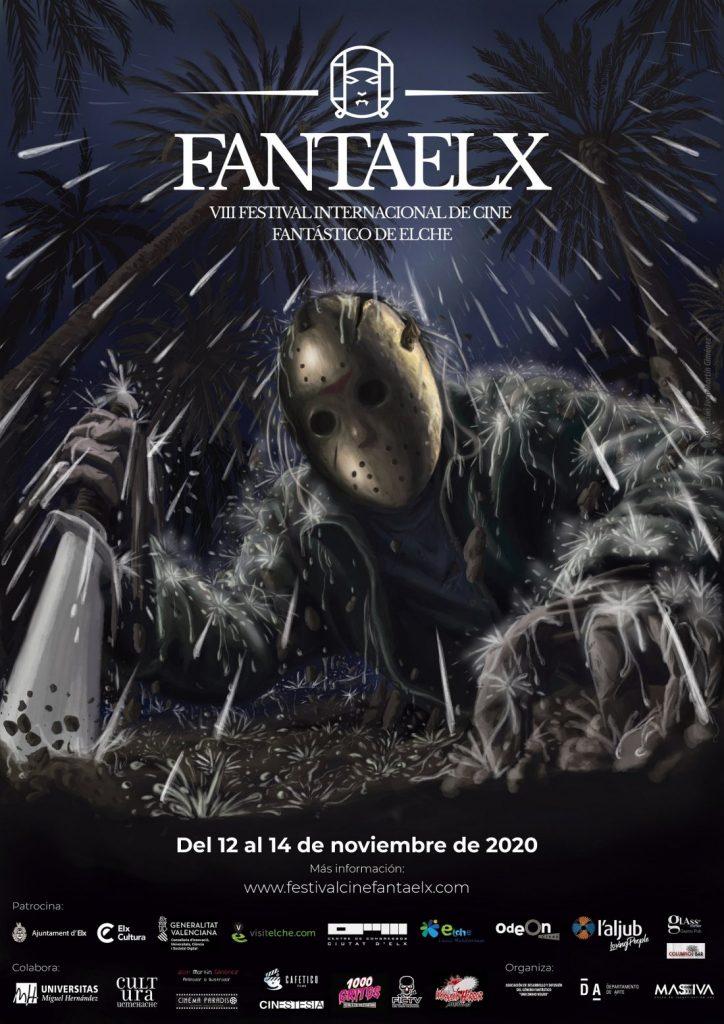 FantaElx 2020 rinde homenaje al 40 aniversario de la saga de terror 'Viernes 13' en su cartel en CINE