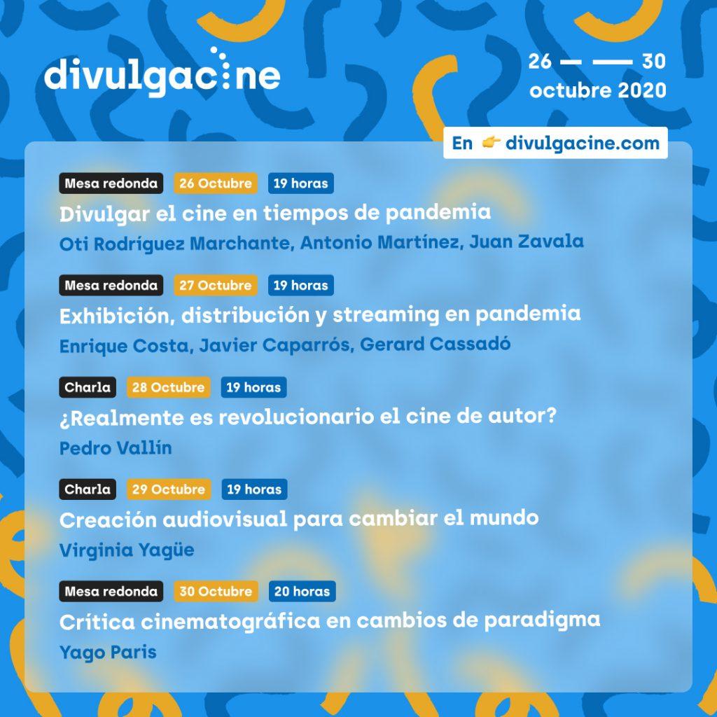 Imajoven organiza la nueva edición de 'Divulgacine' en formato online en CINE