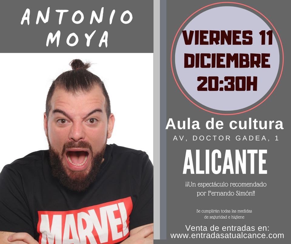 Si piensas que todo va mal, Antonio Moya te demostrará que va 'De mal en peor' en ESCENA