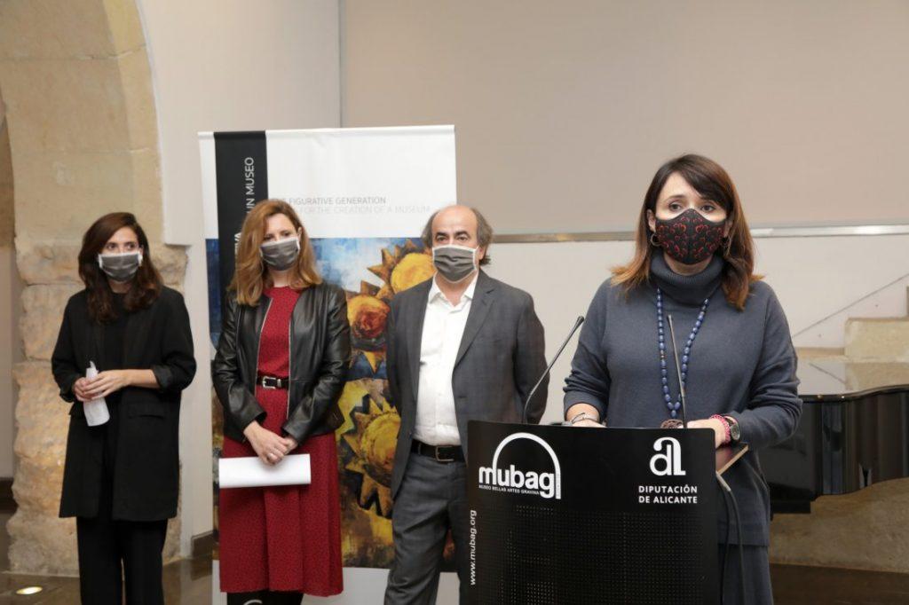 El MUBAG expone más de 60 obras de la colección de la Diputación de Alicante para celebrar su aniversario  en ARTE