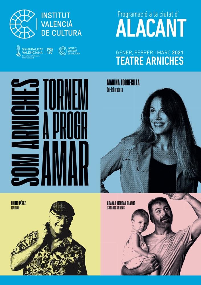 El Arniches programa 39 propuestas de danza, teatro, circo, música y cine para el primer trimestre de 2021 en ESCENA