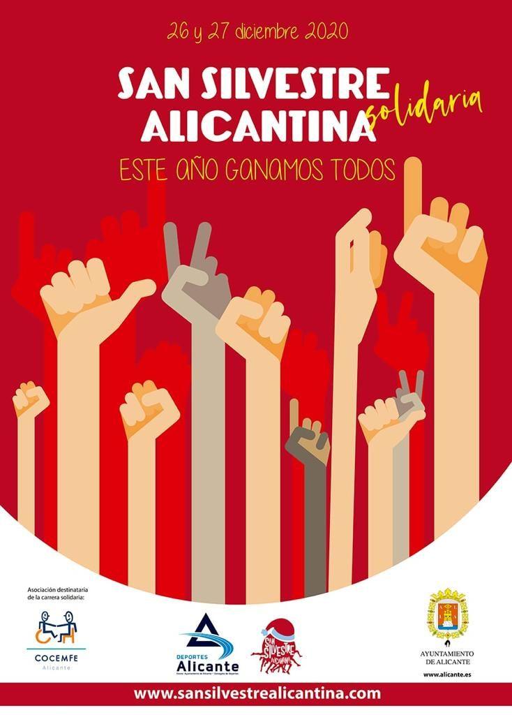 La 'San Silvestre alicantina' cambia su formato habitual con una modalidad competitiva y otra lúdica en AIRE LIBRE