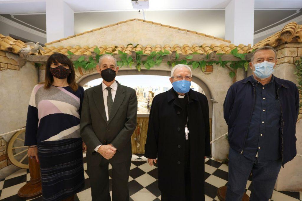 La Exposición de Belenes de la Diputación rinde homenaje a los tradicionales riurau de La Marina en ARTESANIA