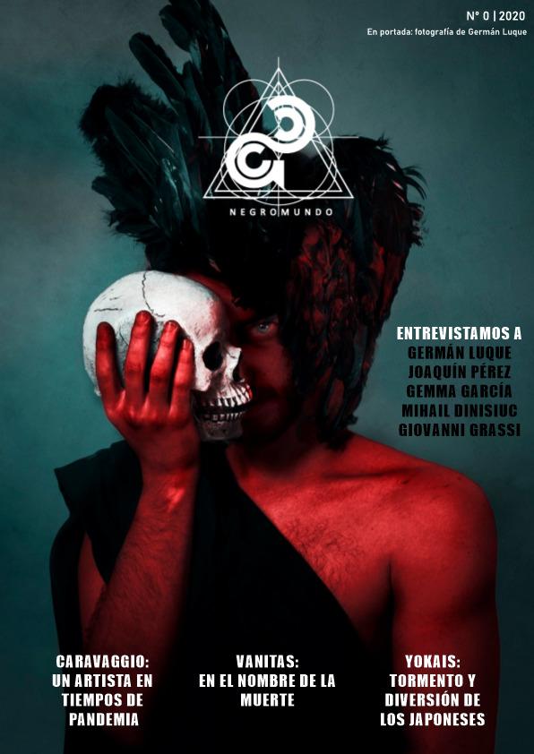 La revista alicantina de arte 'Negromundo' publica su primer número en papel en ARTE
